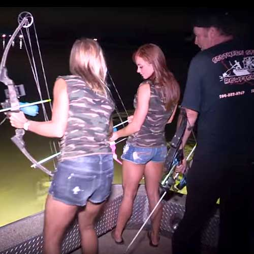 Bowfishing in Venice, LA